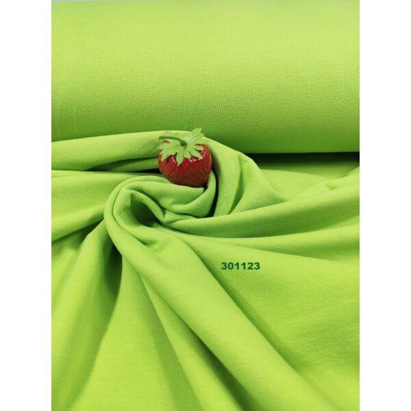 elasztikus egyszínű bolyhos futter /kiwi