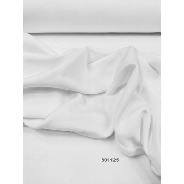 elasztikus egyszínű bolyhos futter /fehér