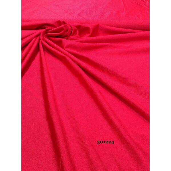 egyszínű fürdőruha anyag /fényes piros