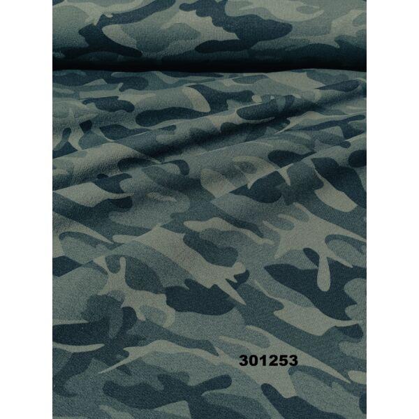 elasztikus futter /zöld terep minta