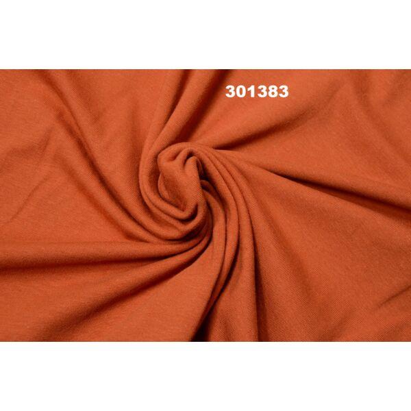 elasztikus egyszínű pamut jersey /terrakotta