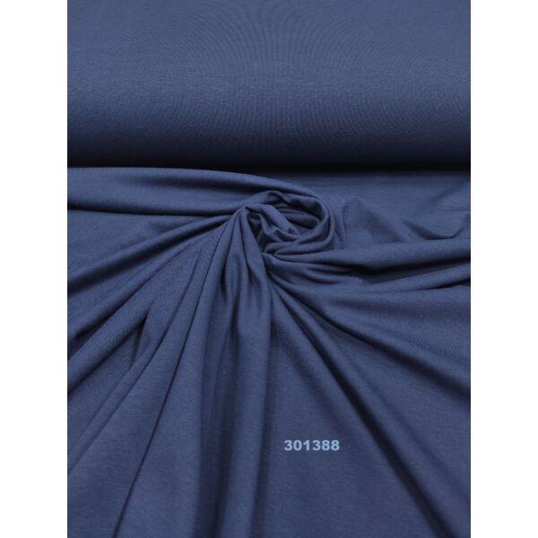 elasztikus egyszínű pamut jersey/ sötétkék
