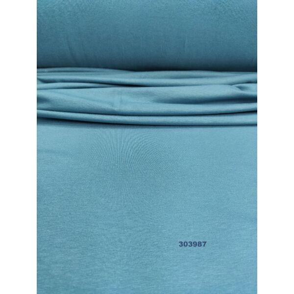 egyszínű viszkóz jersey /öböl kék