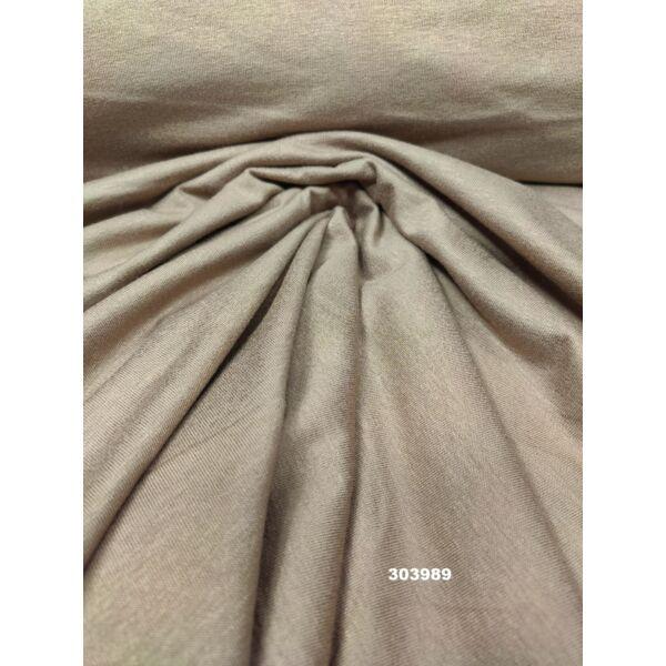 egyszínű viszkóz jersey /világos mogyoró