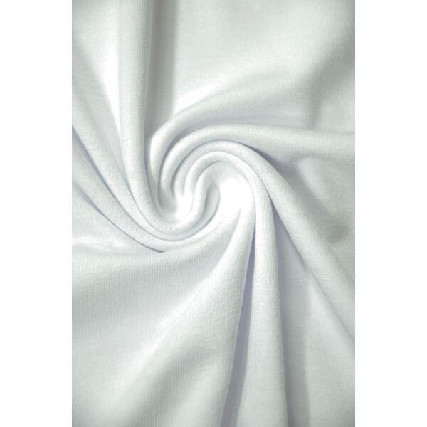 egyszínű viszkóz jersey /fehér