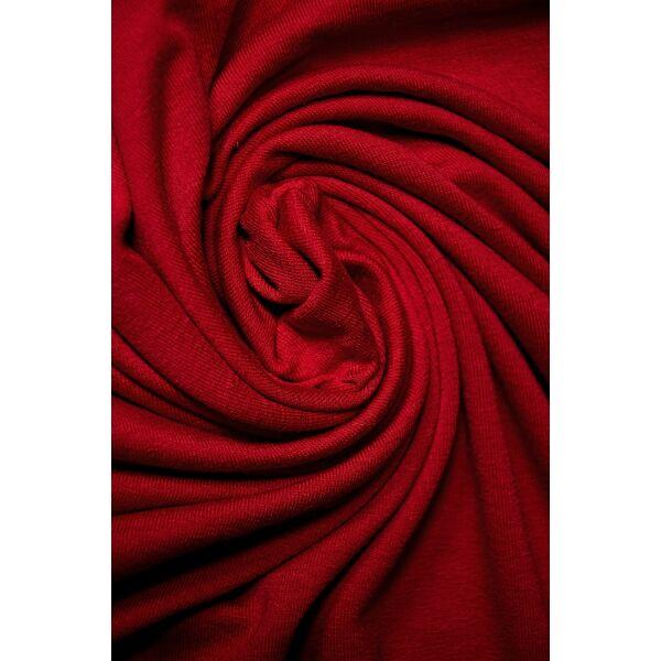 egyszínű viszkóz jersey /piros