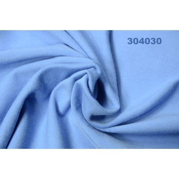 elasztikus egyszínű pamut jersey /középkék