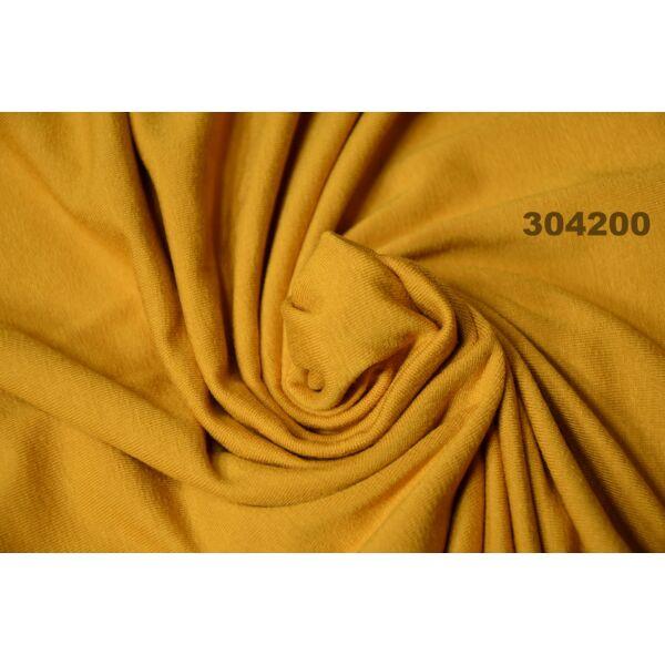 egyszínű viszkóz jersey /mustár