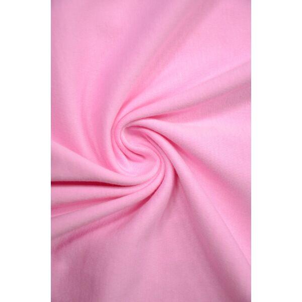egyszínű 100% pamut jersey /rózsaszín