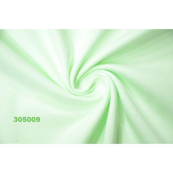 100% pamut jersey /világos zöld (FÉLMÉTER)