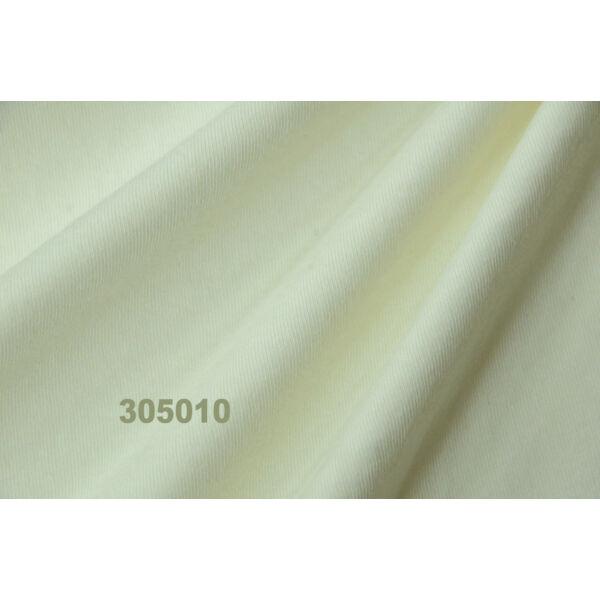 100% pamut jersey /krémszínű (FÉLMÉTER)