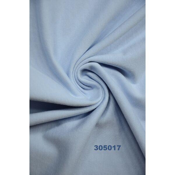 egyszínű 100% pamut jersey /világos kék