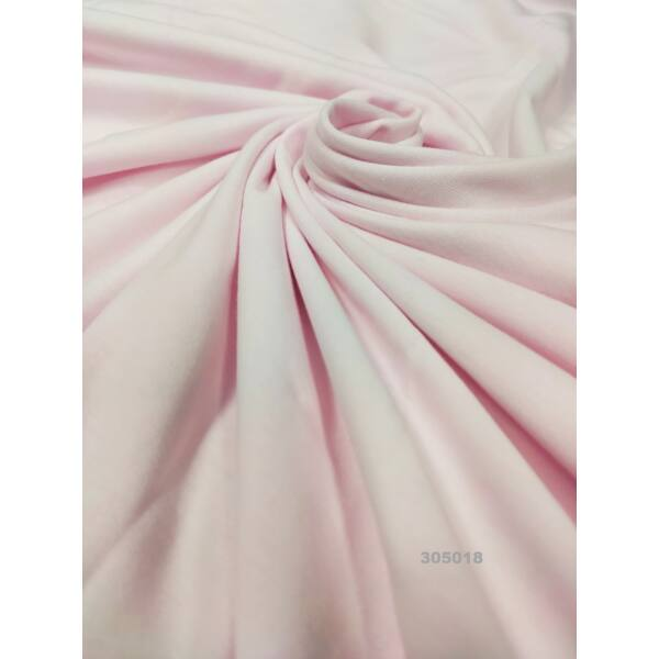 egyszínű 100% pamut jersey /világos rózsaszín