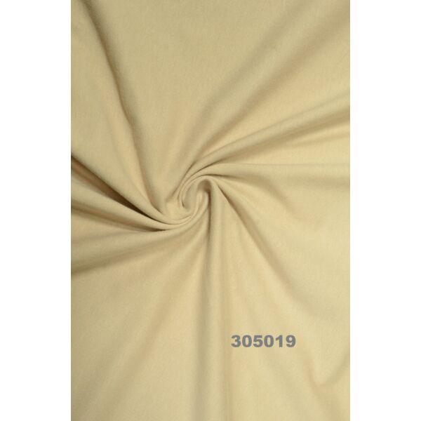 egyszínű 100% pamut jersey /drapp