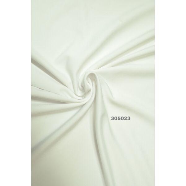 egyszínű 100% pamut jersey /fehér