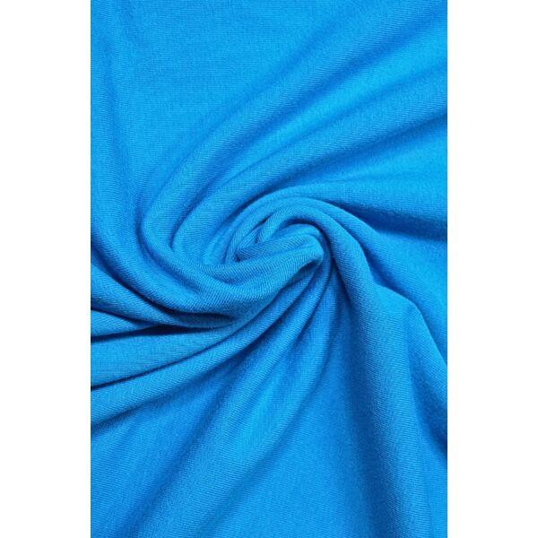 elasztikus egyszínű pamut jersey /türkiz