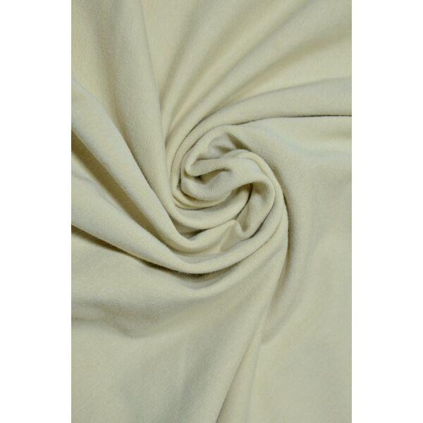 elasztikus egyszínű pamut jersey /drapp