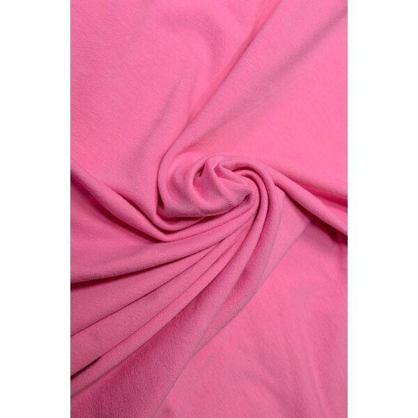 elasztikus egyszínű pamut jersey /sötét rózsaszín