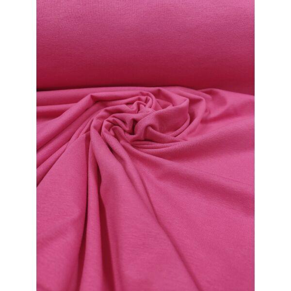 elasztikus egyszínű pamut jersey /pink