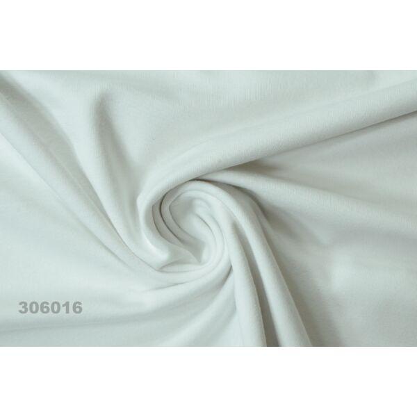 elasztikus pamut jersey /fehér(FÉLMÉTER)