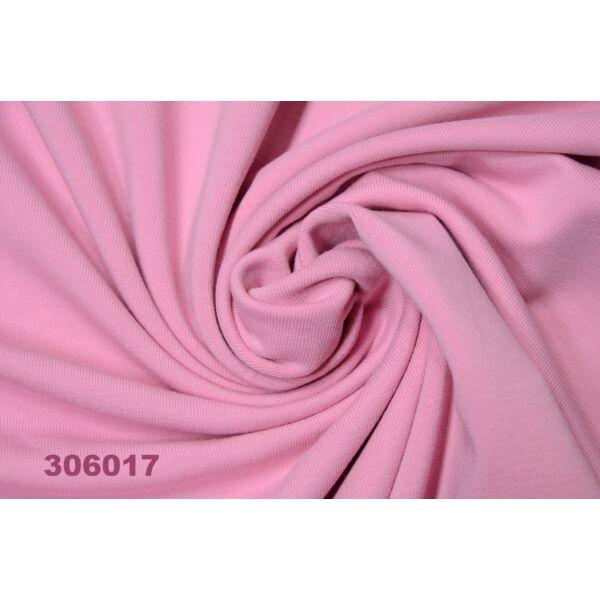 elasztikus egyszínű pamut jersey /rózsaszín