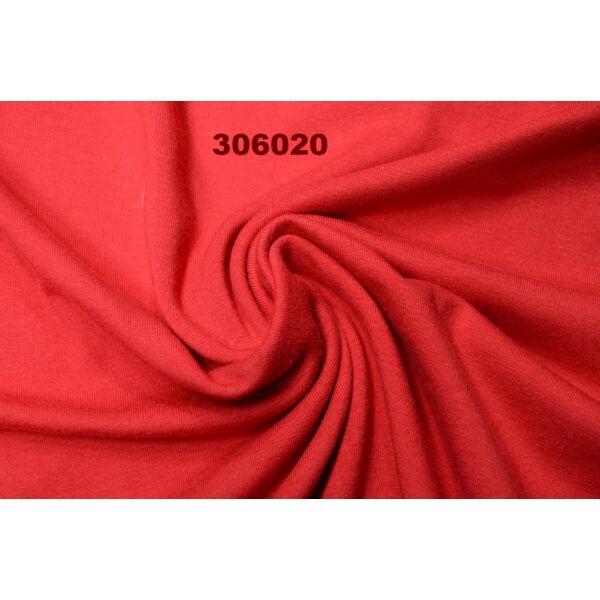 elasztikus egyszínű pamut jersey /piros