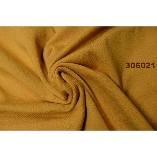 elasztikus pamut jersey /mustár
