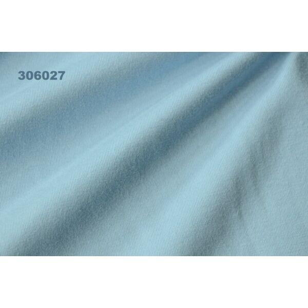 elasztikus egyszínű pamut jersey /világoskék