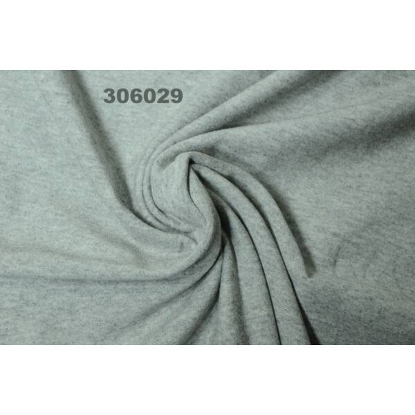 elasztikus pamut jersey /melange szürke