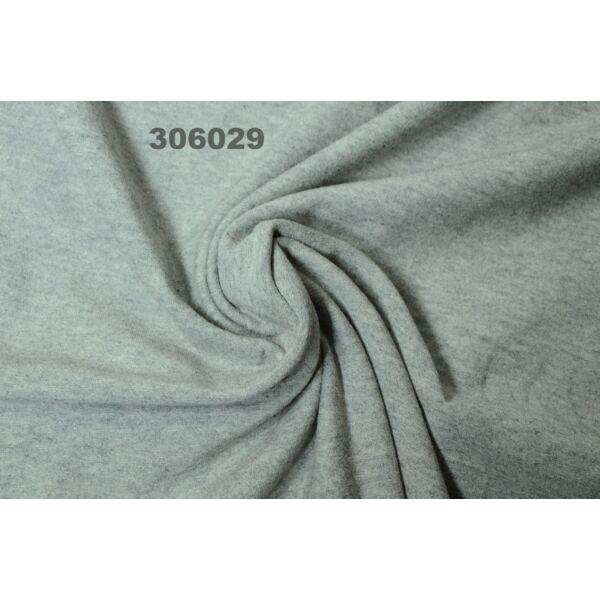 elasztikus egyszínű pamut jersey /melange szürke