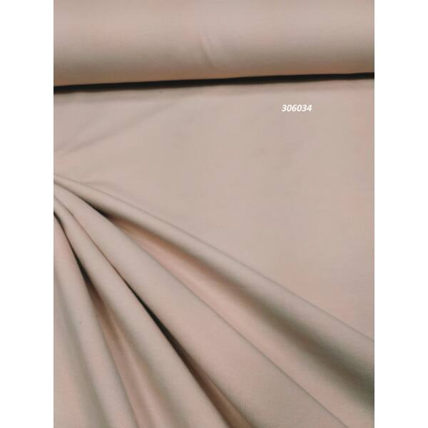 elasztikus egyszínű pamut jersey /púderrózsaszín