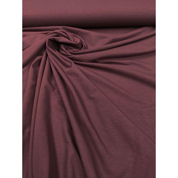 elasztikus egyszínű pamut jersey /bordó