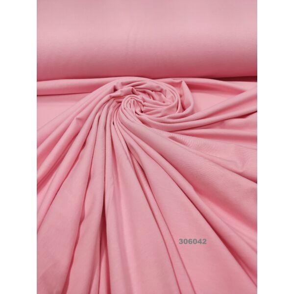 elasztikus egyszínű pamut jersey /puncs rózsaszín