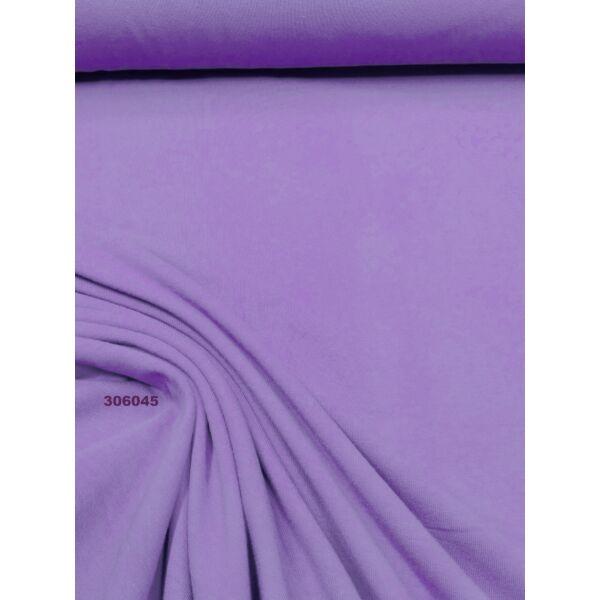 elasztikus egyszínű pamut jersey /orgona lila