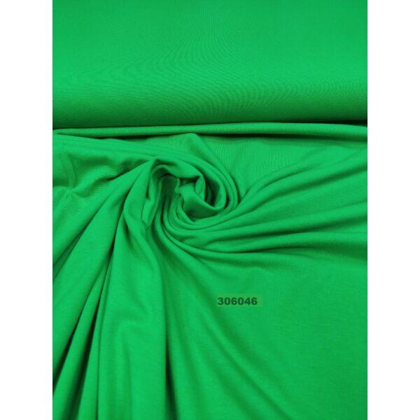 elasztikus egyszínű pamut jersey /fűzöld