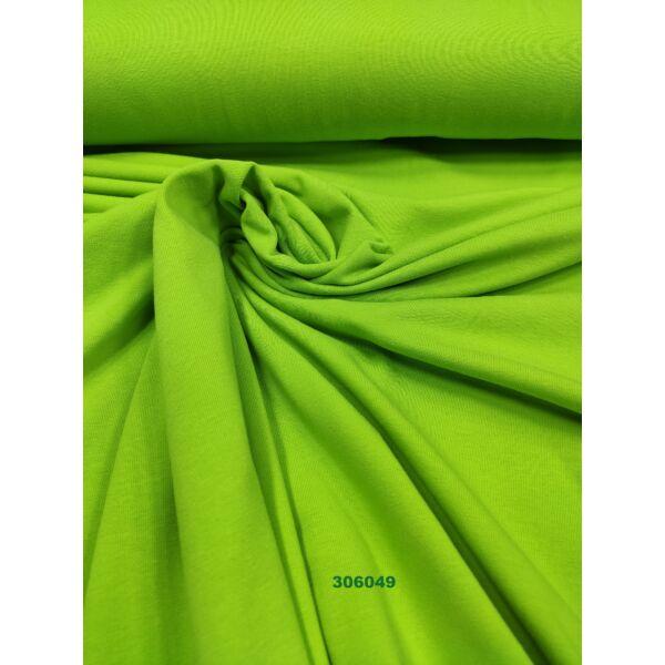 elasztikus egyszínű pamut jersey /kiwi