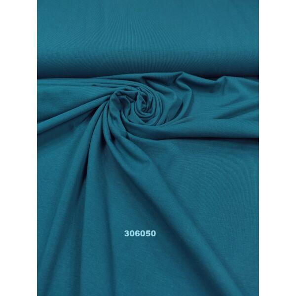 elasztikus egyszínű pamut jersey /sötét petrolzöld