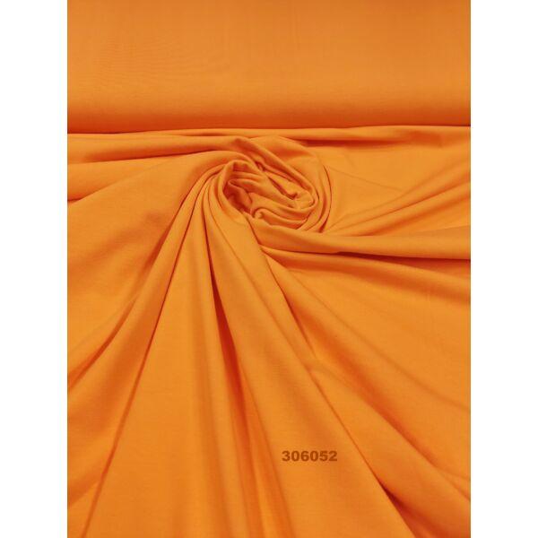 elasztikus egyszínű pamut jersey /narancssárga