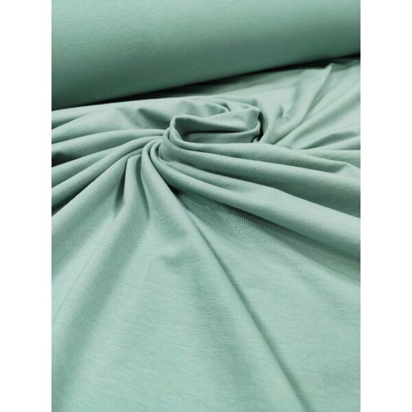 elasztikus egyszínű pamut jersey /világos petrolzöld