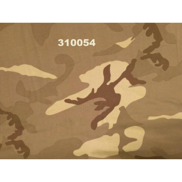 elasztikus pamut jersey /terep mintás /drapp(FÉLMÉTER)