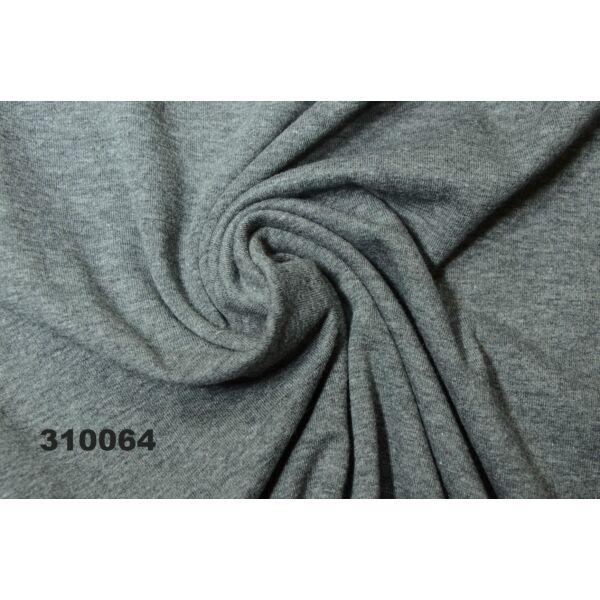 elasztikus egyszínű pamut jersey /sötétszürke melange