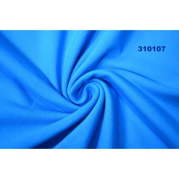 elasztikus egyszínű bolyhos futter /türkiz