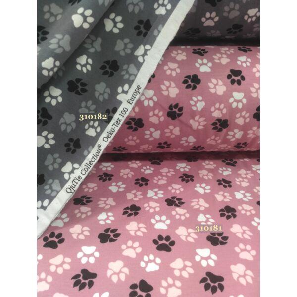 Elasztikus pamut jersey / kutyatappancs (2cm*2cm)