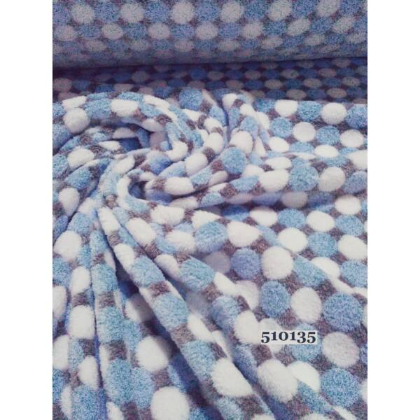pöttyös wellsoft (2cm)/ kék-fehér