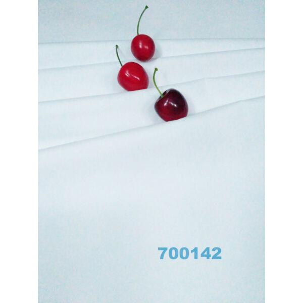 elasztikus egyszínű puplin /fehér