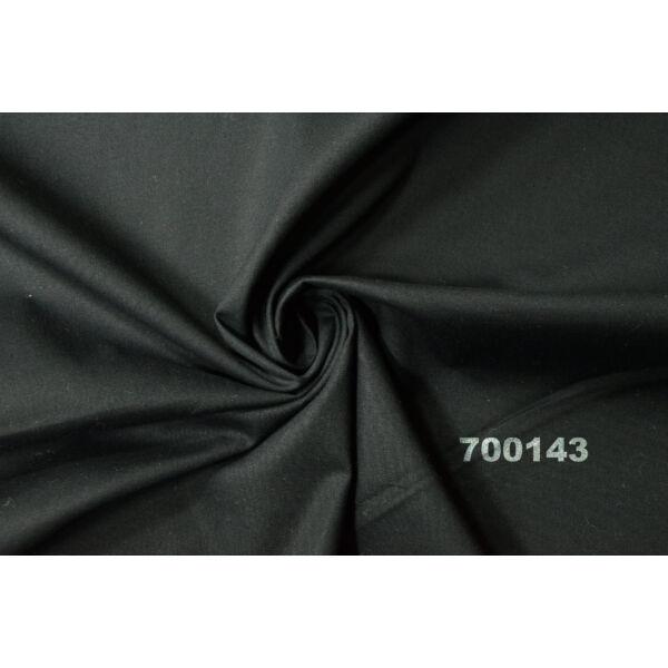 elasztikus egyszínű puplin /fekete