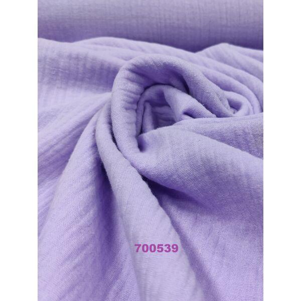 egyszínű dupla géz/ pasztell lila