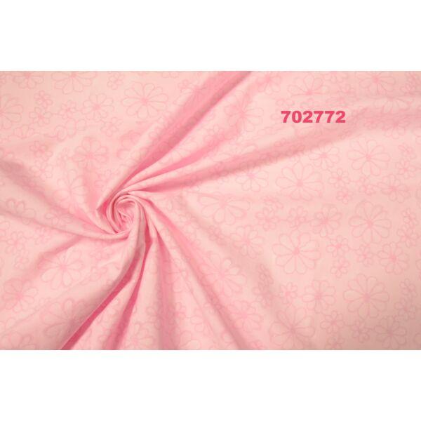 puplin /áttört mintás /rózsaszín(FÉLMÉTER)