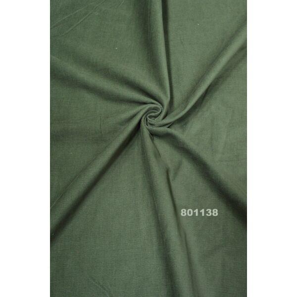 micro kordbársony /sötét zöld
