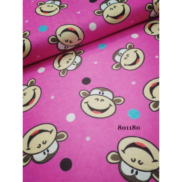 majmok-pink /flanell